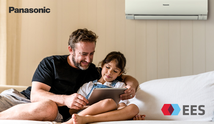 Save $300 off RRP on any Heat Pump from the Panasonic E-Series PKR range*